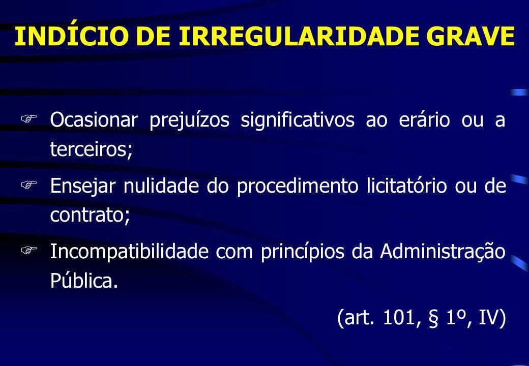 Posição do TCU O TCU tem entendido que não é possível a exigência para qualificação técnica de itens sem relevância e de valor pouco significativo (Acórdãos 1284/2003-P; Decisão 574/2002-P; Acórdão 167/2001-P).