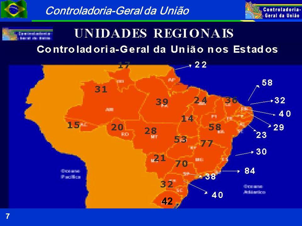 Controladoria-Geral da União 18 Ministério das Cidades PROGRAMA Infra-Estrutura Urbana.