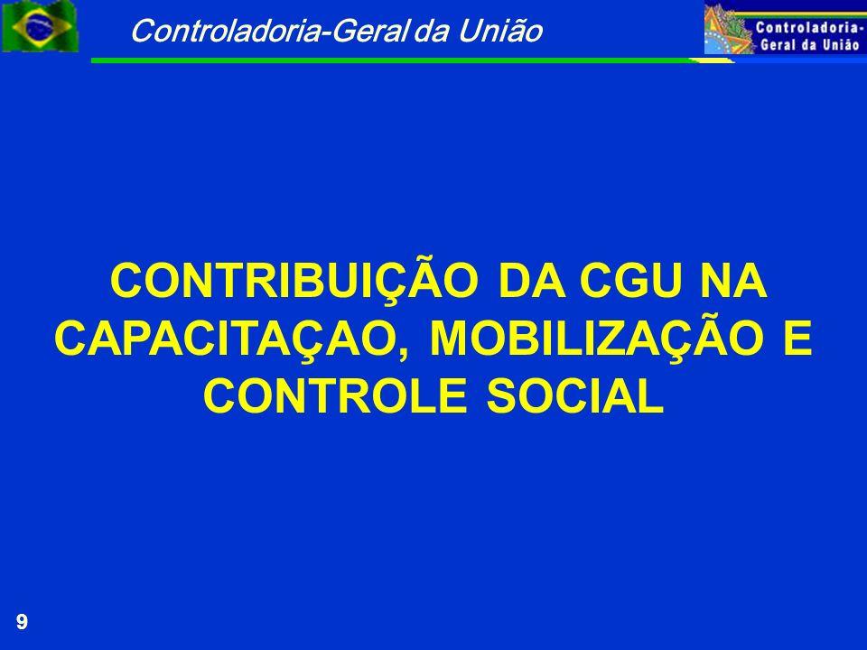 Controladoria-Geral da União 50