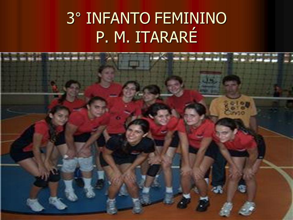 3° INFANTO FEMININO P. M. ITARARÉ