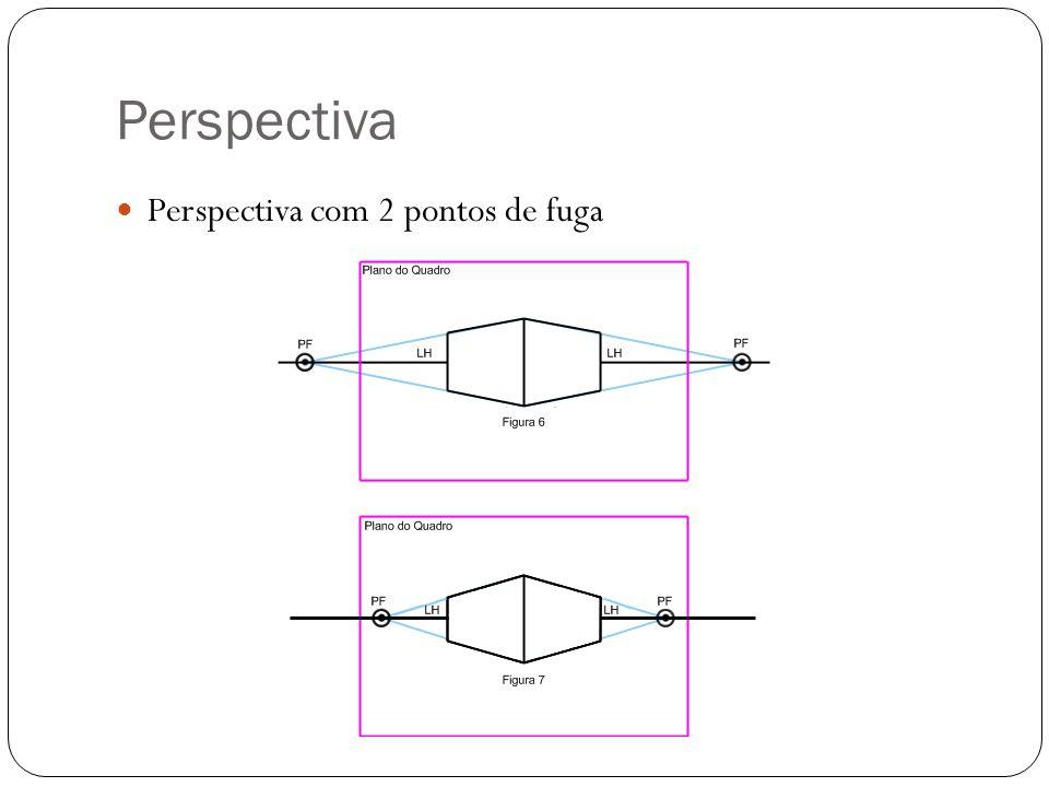 Perspectiva Perspectiva com 2 pontos de fuga