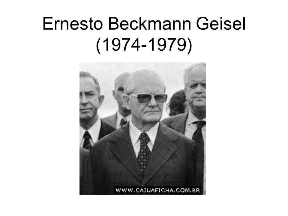 Ernesto Beckmann Geisel (1974-1979)