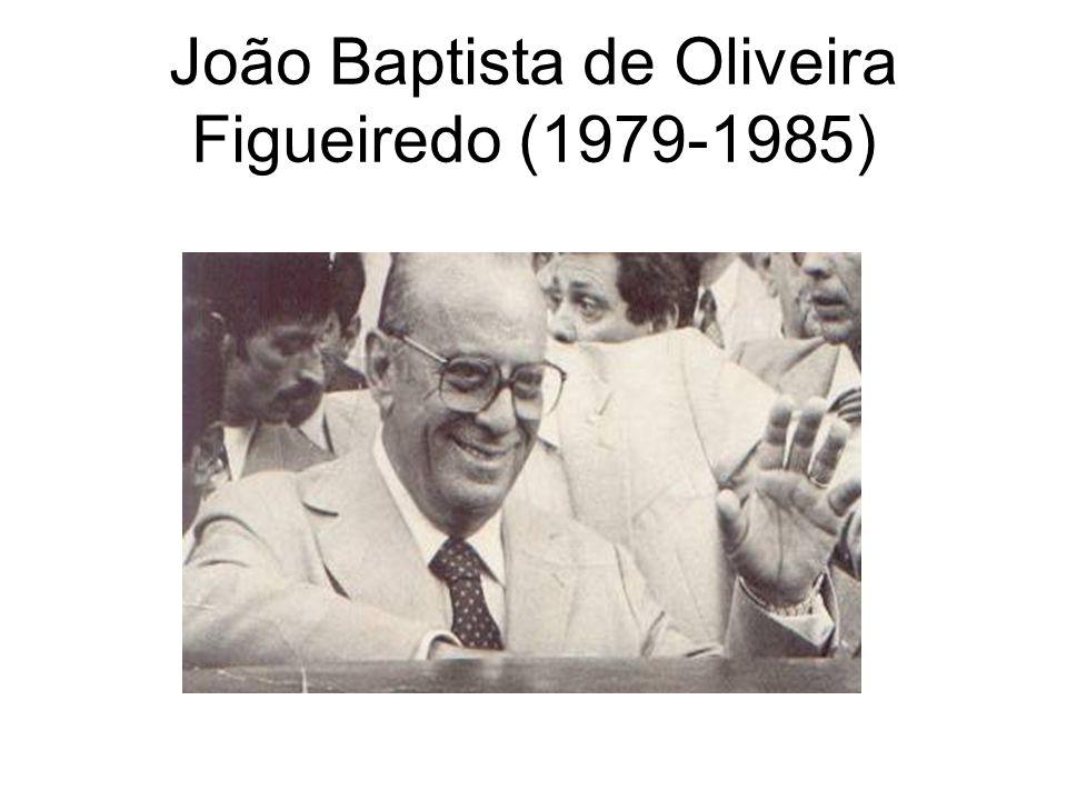 João Baptista de Oliveira Figueiredo (1979-1985)