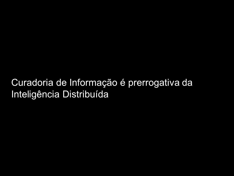 Curadoria de Informação é prerrogativa da Inteligência Distribuída