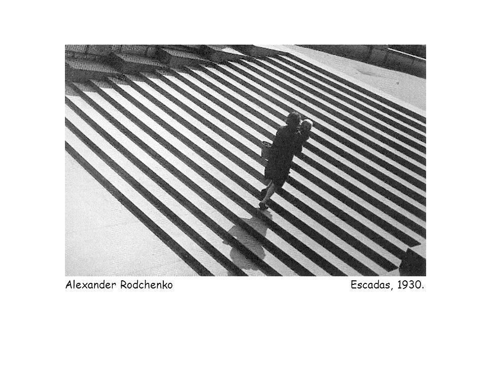 Alexander Rodchenko Escadas, 1930.