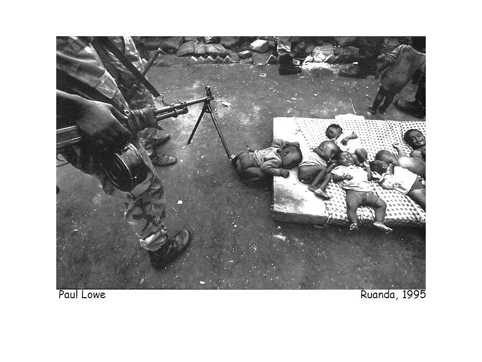 Paul Lowe Ruanda, 1995
