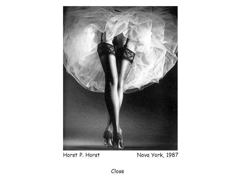 Horst P. Horst Nova York, 1987 Close