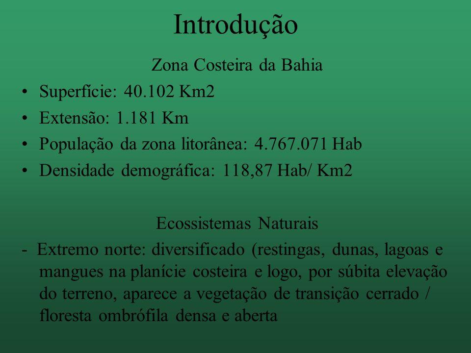 -Salvador - Ilhéus: Baías, enseadas e desembocaduras que configuram rios e ilhas.