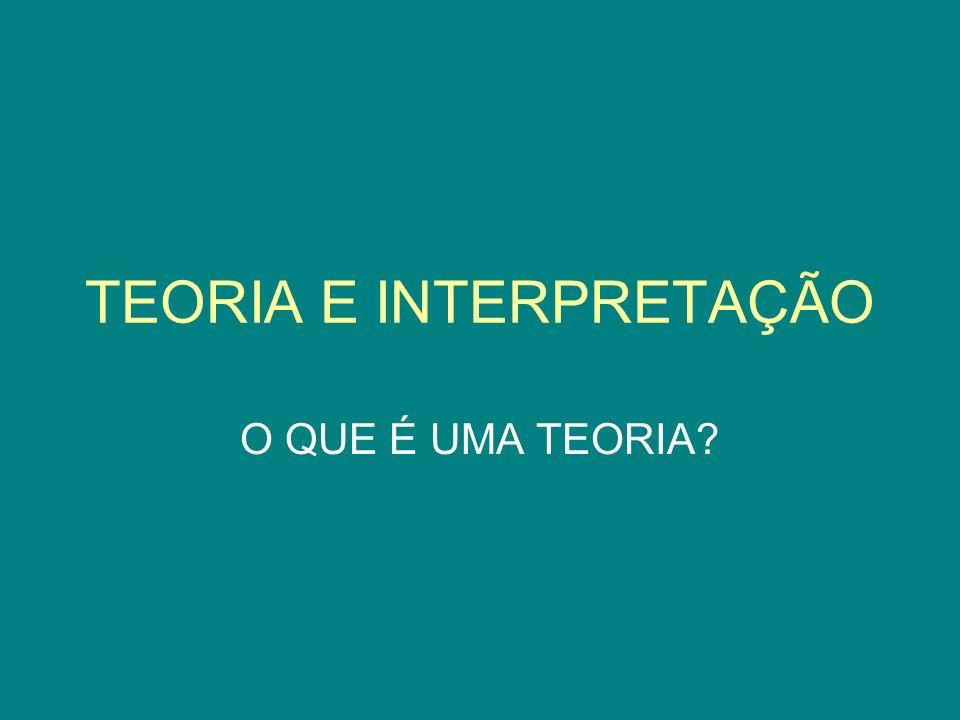 José DAssunção Barros (2009) A teoria remete a uma maneira de ver o mundo ou de compreender o campo de fenômenos que estão sendo examinados.