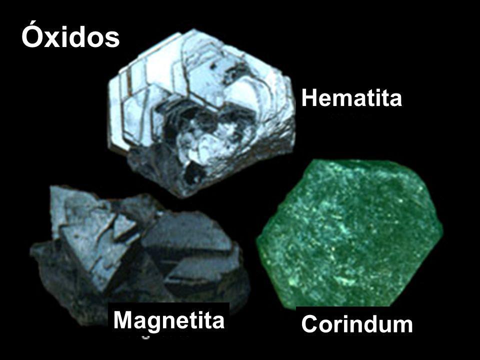 Óxidos Hematita Magnetita Corindum