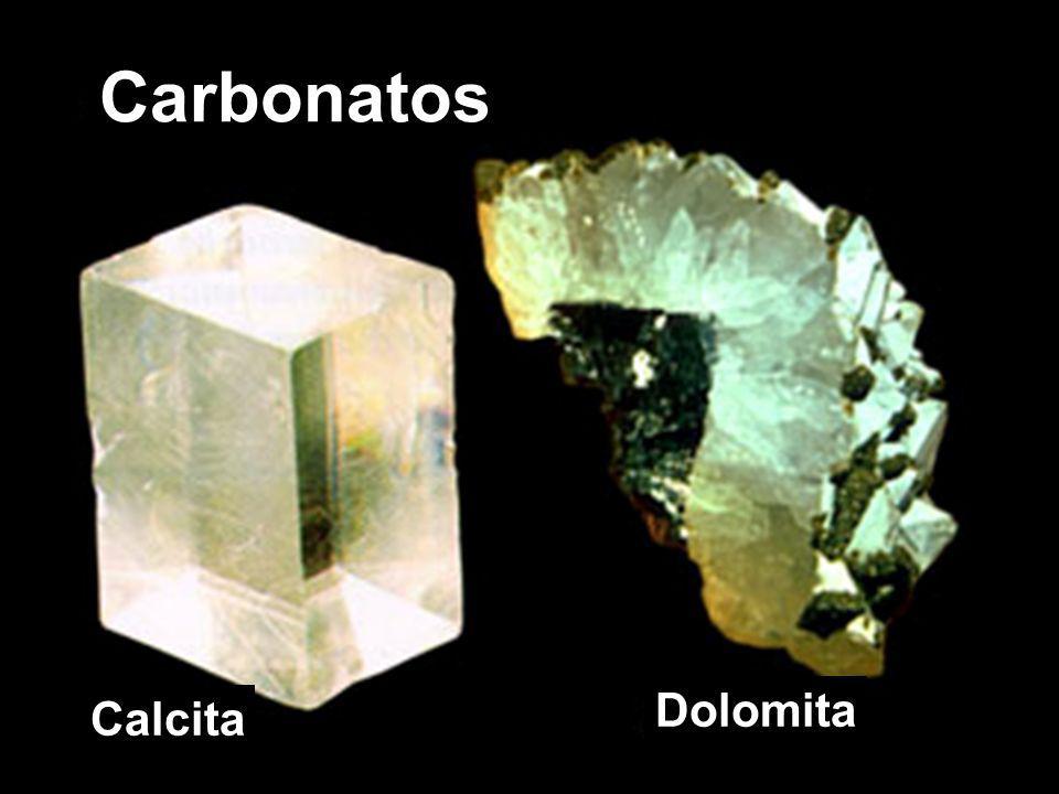 Carbonatos Calcita Dolomita