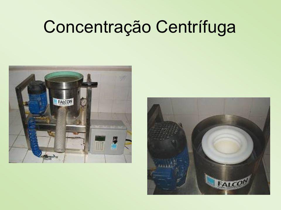 Concentração Centrífuga
