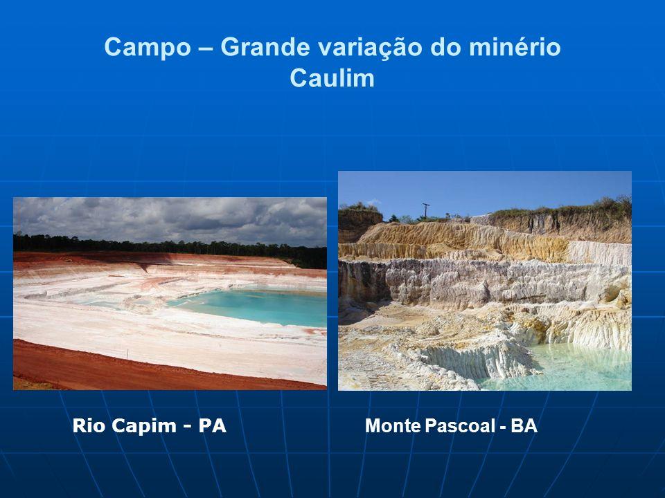 Campo – Grande variação Pegmatito –Província Borborema – Seridó (RN) Obtenção da amostra?
