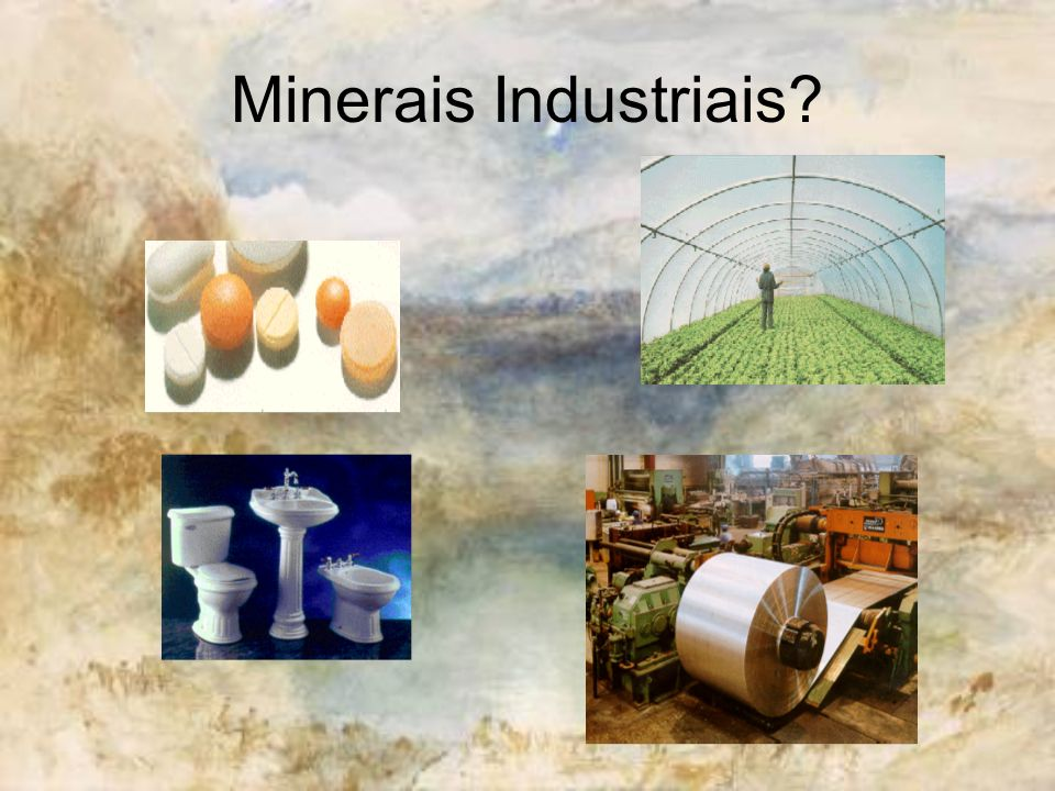 Grupo dos Minerais Físicos e dos Minerais Químicos