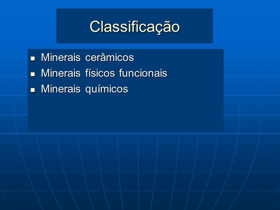 Minerais Industriais São todas as rochas e minerais, inclusive os sintéticos, predominantemente não metálicos, que por suas propriedades físicas ou qu