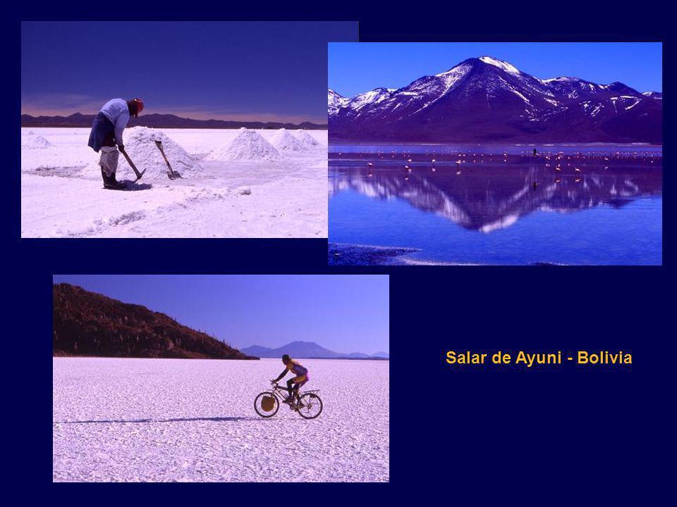 Salar de Ayuni - Bolivia