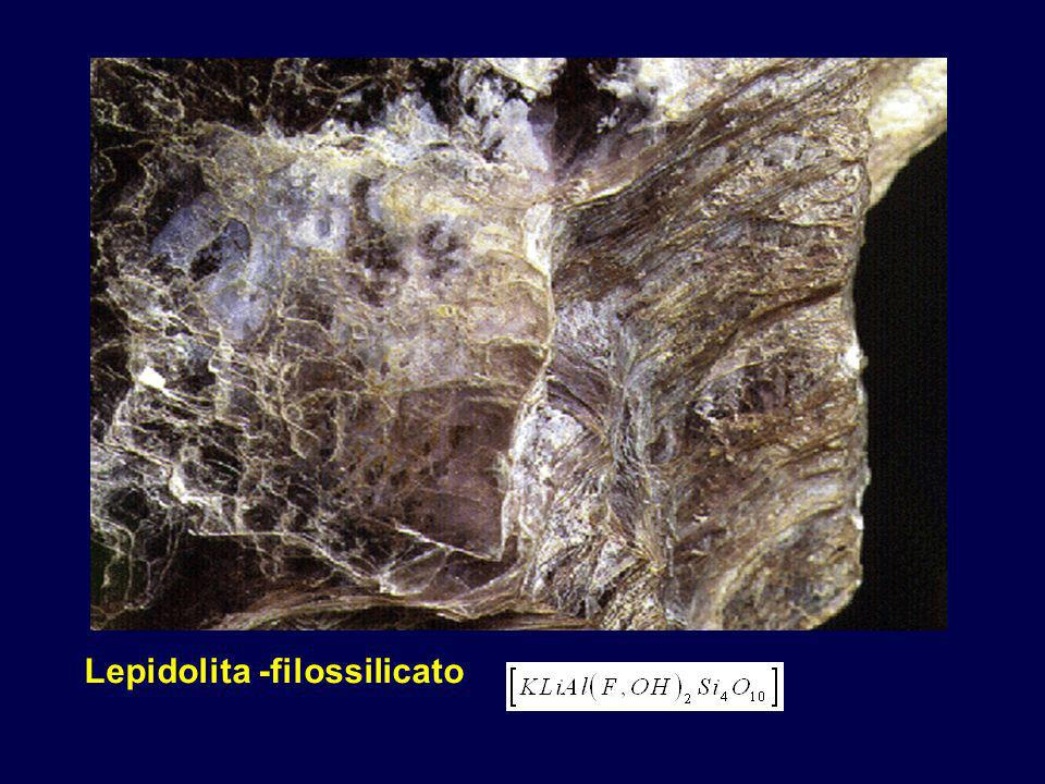 Lepidolita -filossilicato