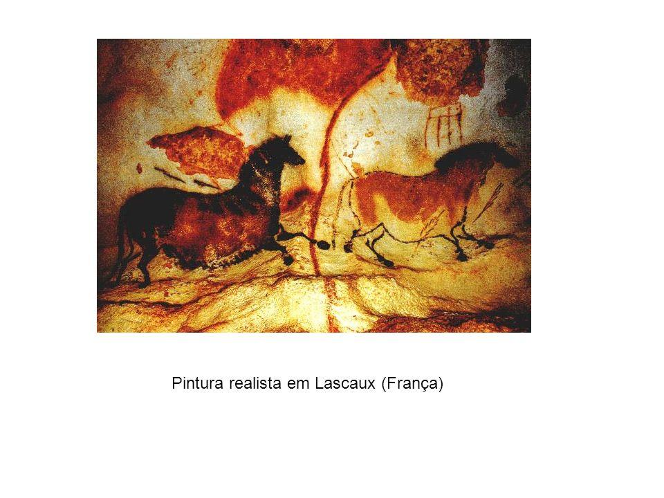 Pintura realista em Lascaux (França)