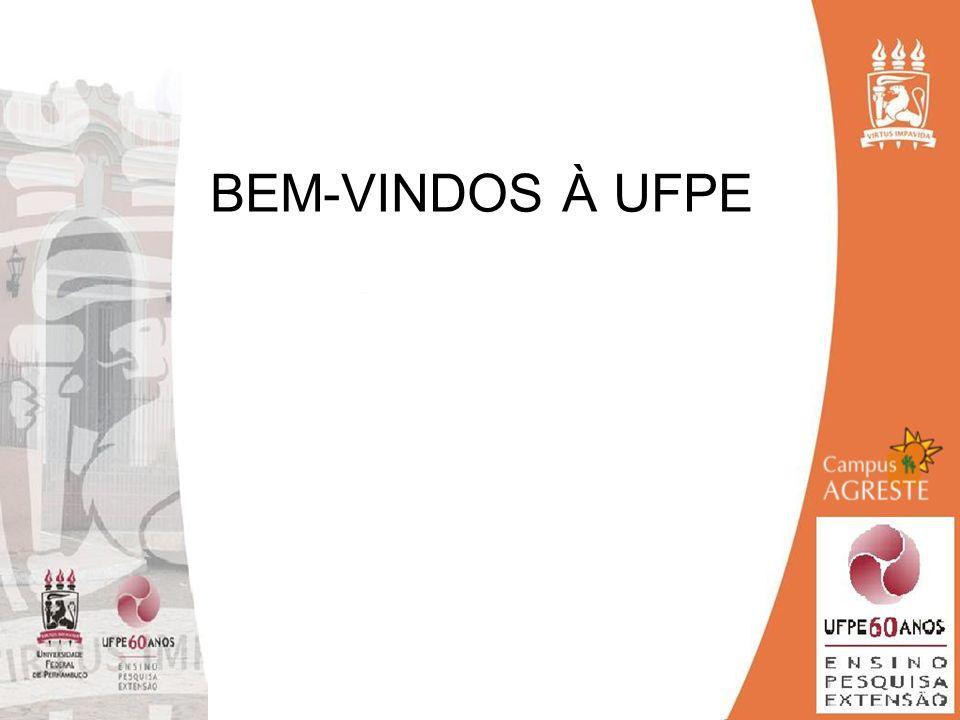 BEM-VINDOS À UFPE