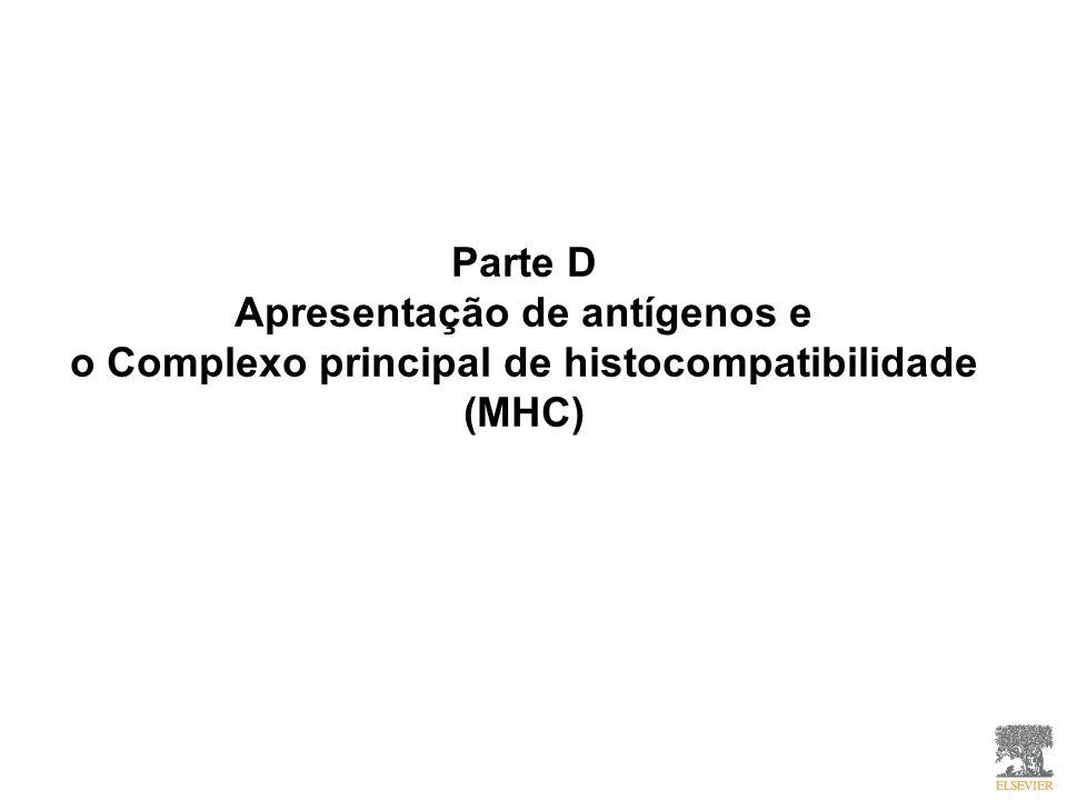 Parte D Apresentação de antígenos e o Complexo principal de histocompatibilidade (MHC)