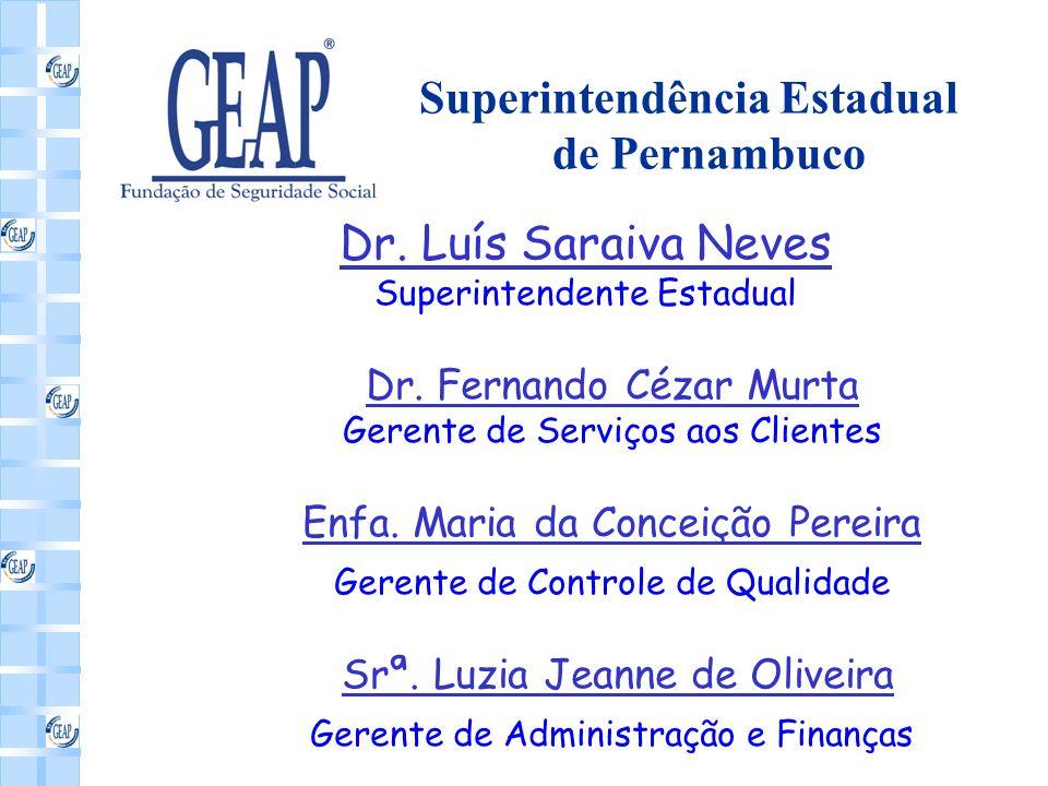 Dr.Luís Saraiva Neves Superintendente Estadual Dr.