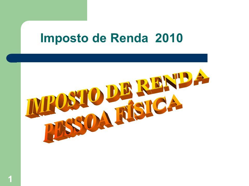 Imposto de Renda 2010 1