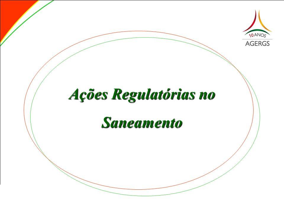 Ações Regulatórias no Saneamento