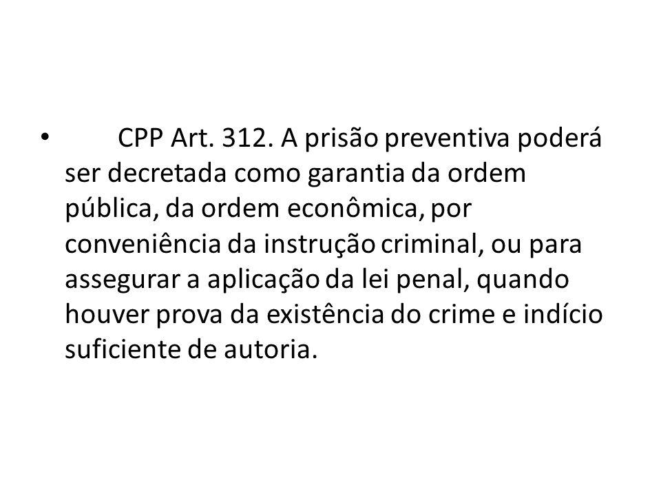 CPP Art.312.
