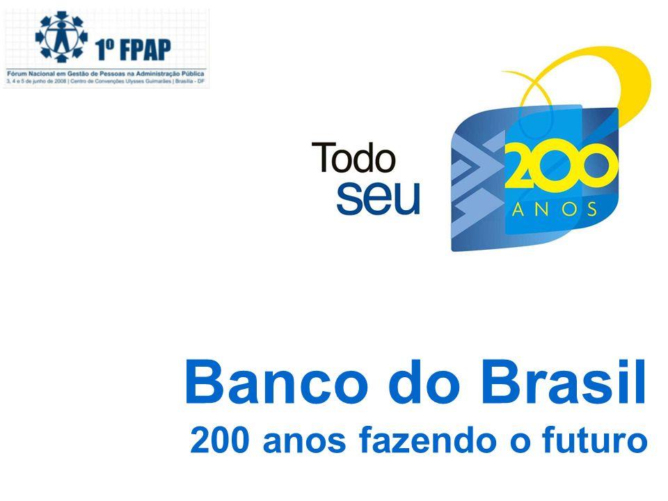 Banco do Brasil 200 anos fazendo o futuro