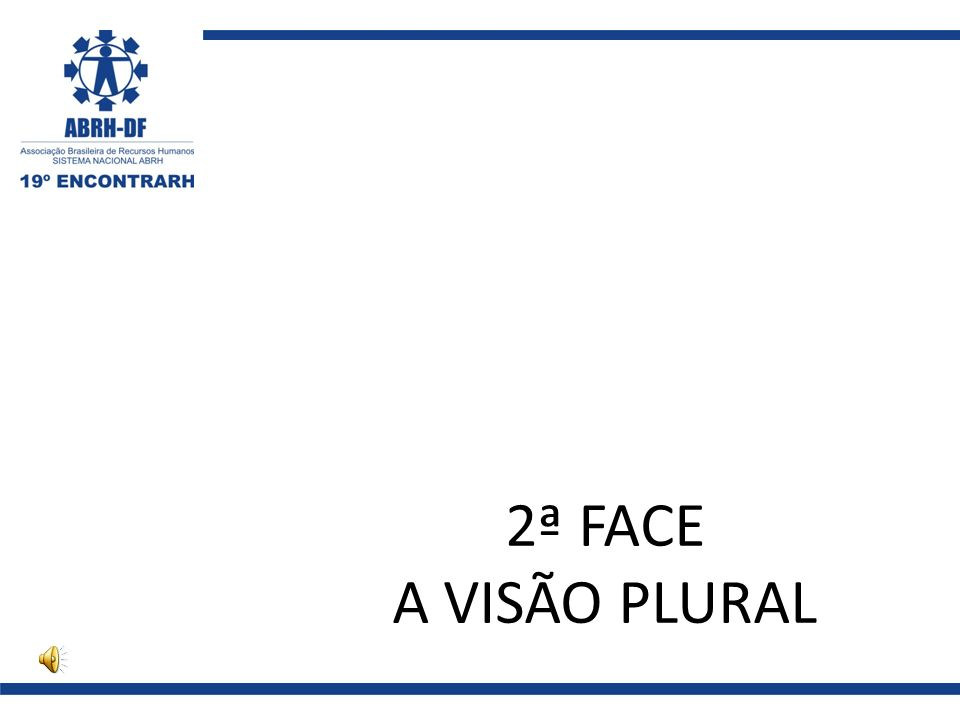 2ª FACE A VISÃO PLURAL