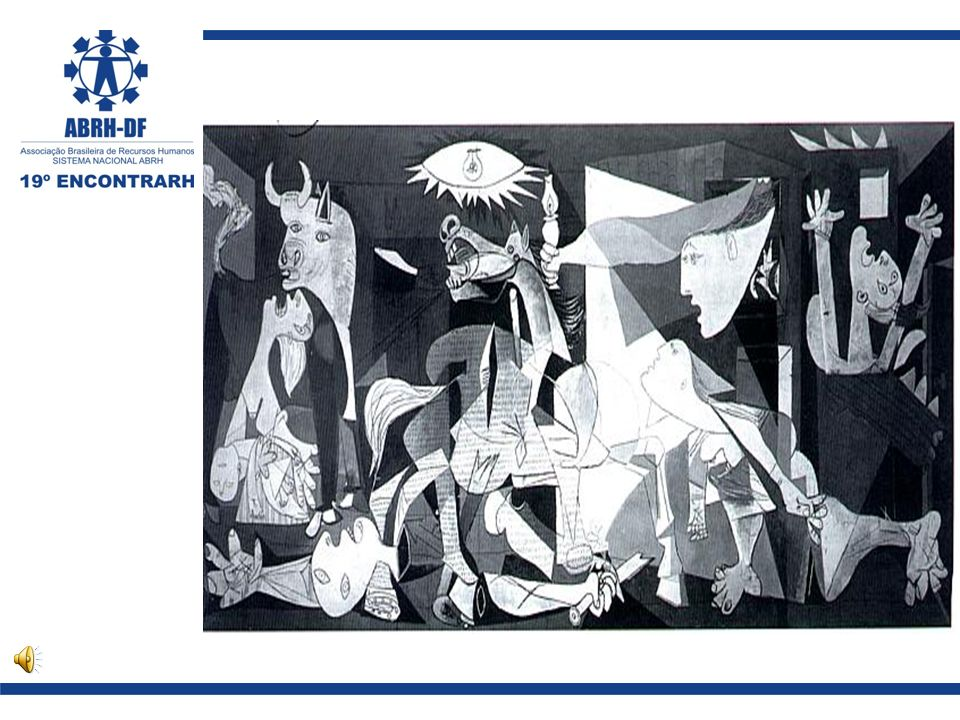 Sobre a Obra 1.Autor: Pablo Picasso - Data: 1937.2.Título: Guernica (8mX3,50m – óleo sobre tela).
