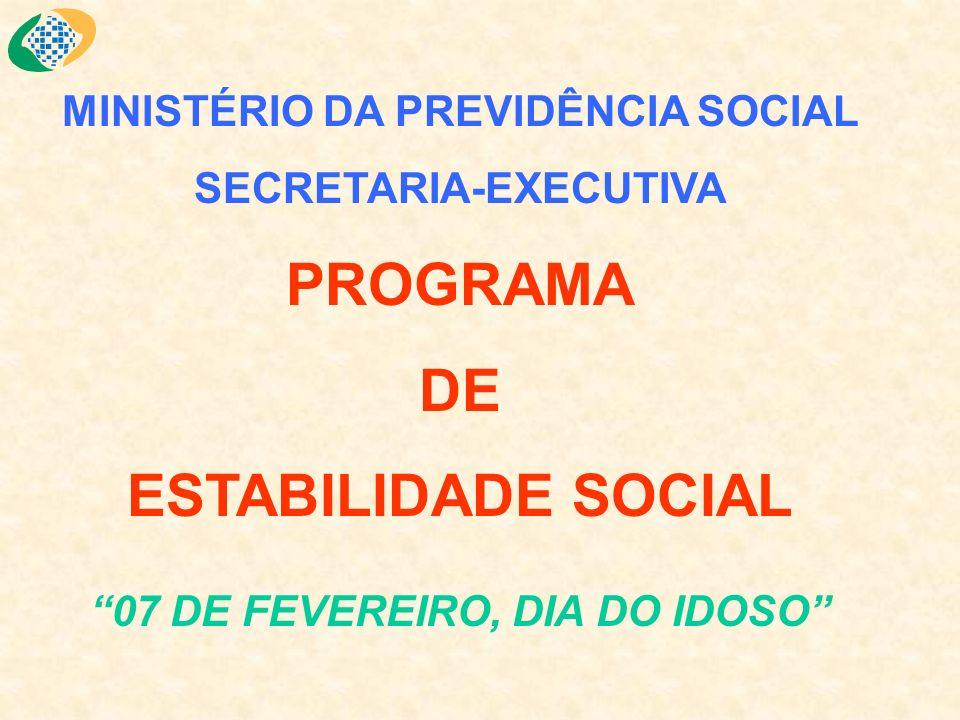 MPS - Ministério da Previdência Social SPS-Secretaria de Previdência Social DRGPS - Depto.