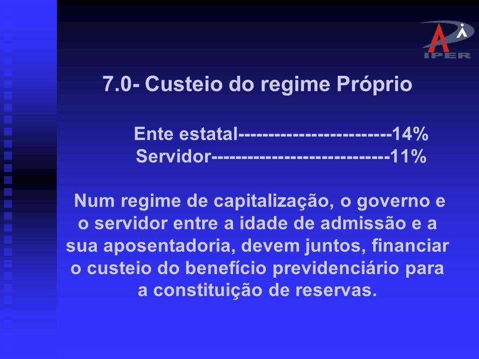 6.0- Regime Único de Previdência Art.