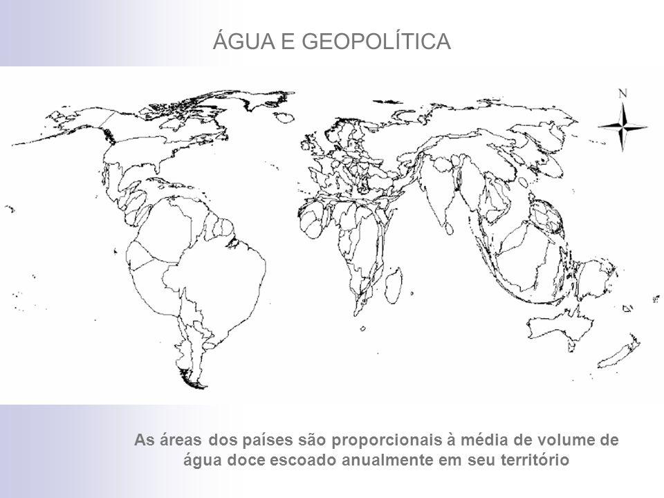 Contribuição média anual das regiões em km 3 ESCALA Brasil: 5.660 km 3 (12%) Brasil + Territ.