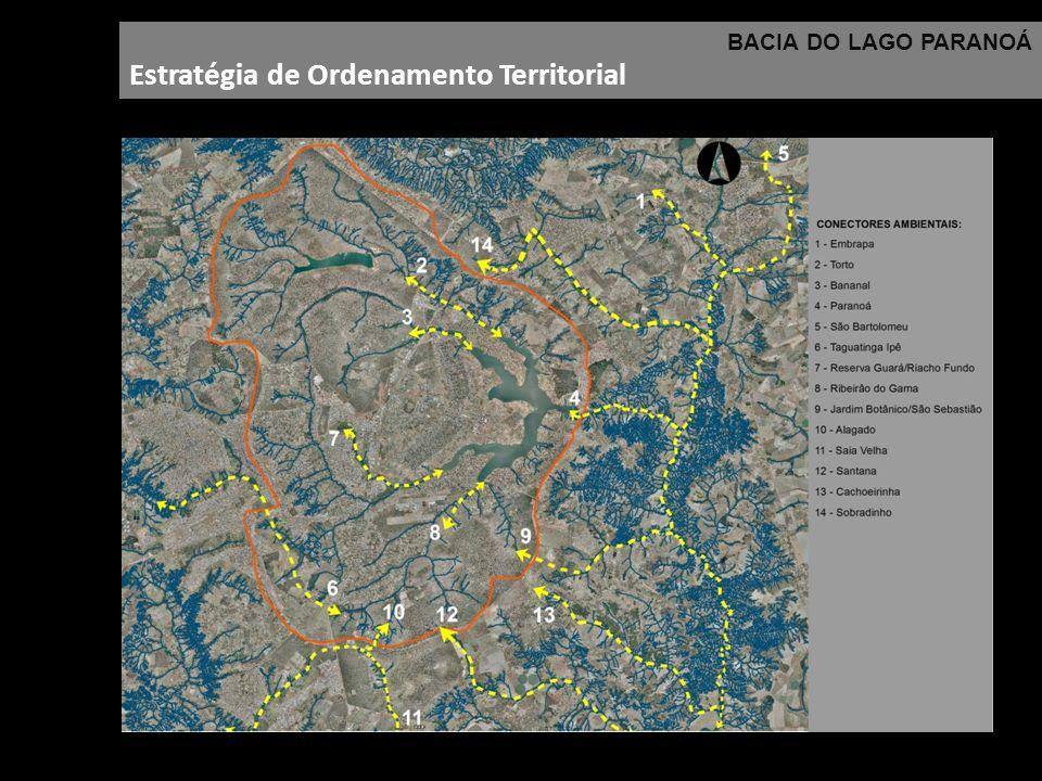 BACIA DO LAGO PARANOÁ Estratégia de Ordenamento Territorial