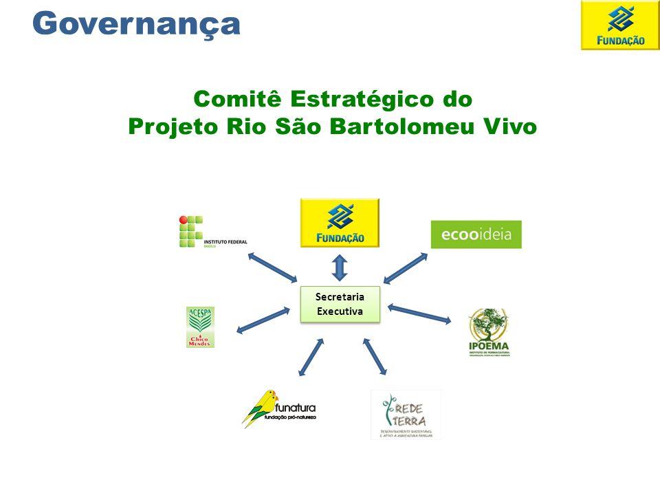Secretaria Executiva Comitê Estratégico do Projeto Rio São Bartolomeu Vivo Governança