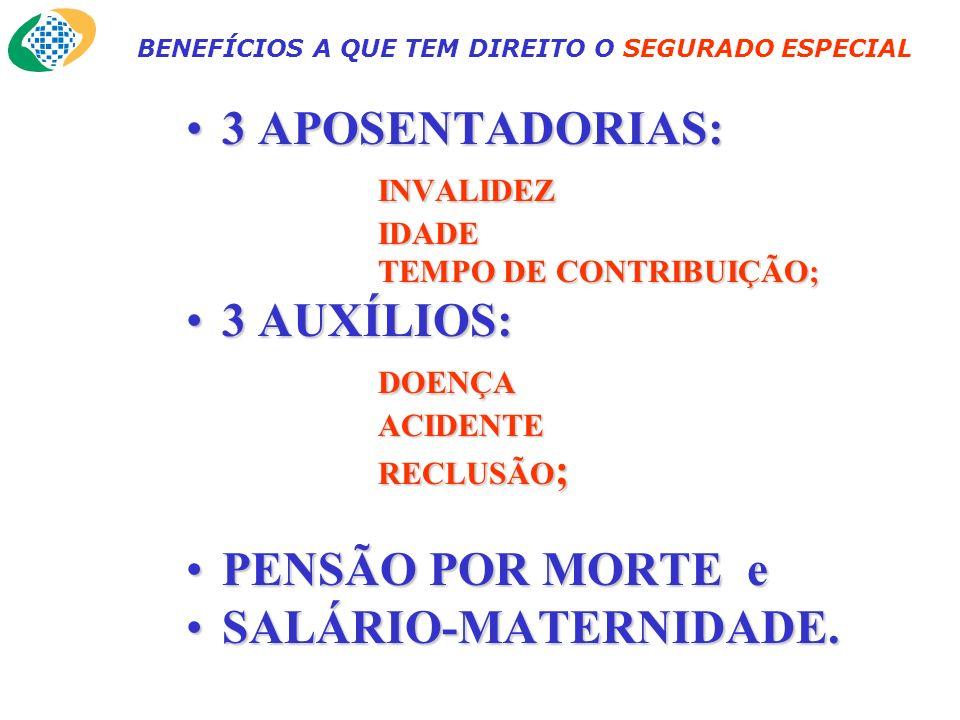 FONTES DE RECEITA DA SEGURIDADE A contribuição do segurado especial é de 2,1% (mais 0,2% para o SENAR), sobre a comercialização de sua produção, podendo contribuir, adicionalmente, como facultativo, para aumentar o valor dos benefícios.