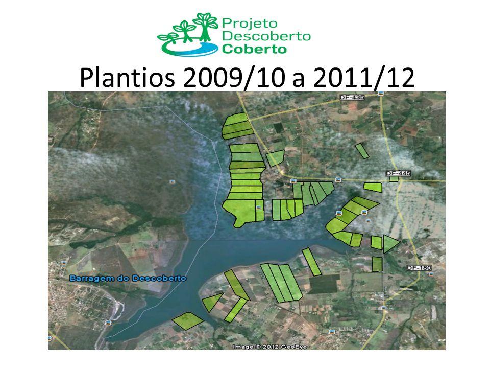 Plantios 2009/10 a 2011/12
