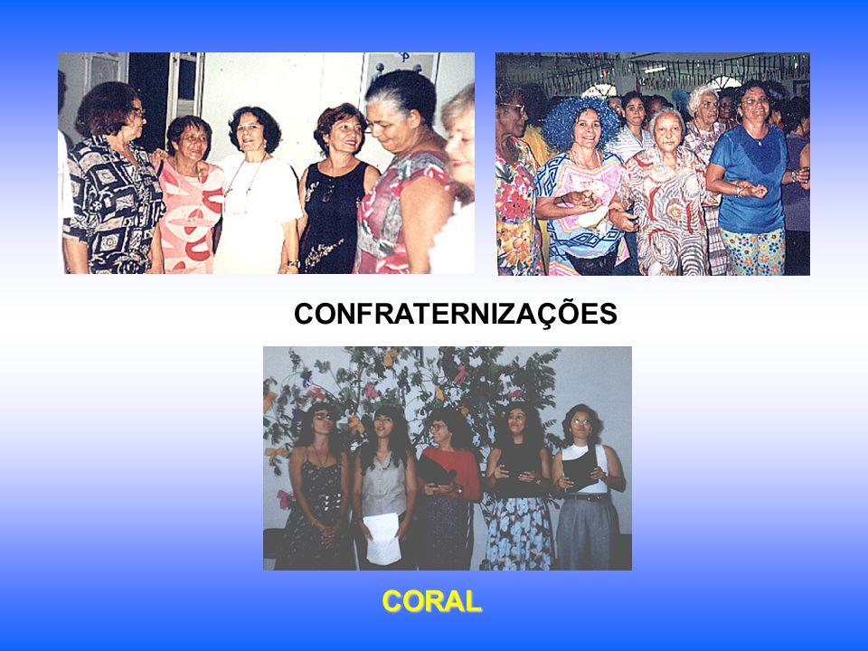 CONFRATERNIZAÇÕES CORAL