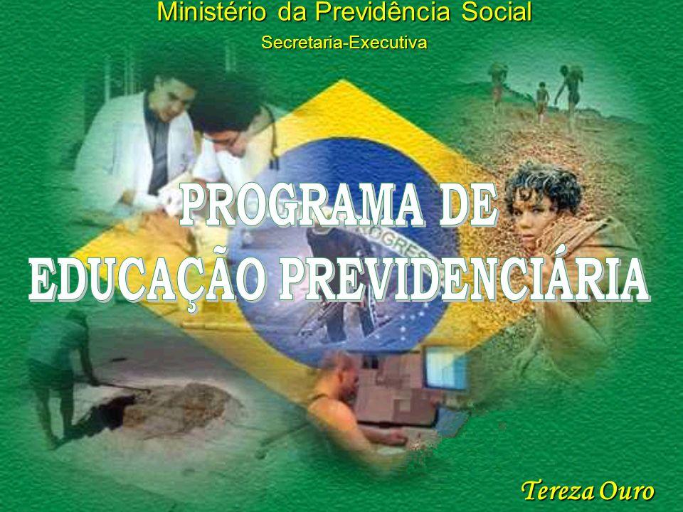 Proteção Previdenciária De cada 10 pessoas ocupadas 6 estão socialmente protegidas pela Previdência Social