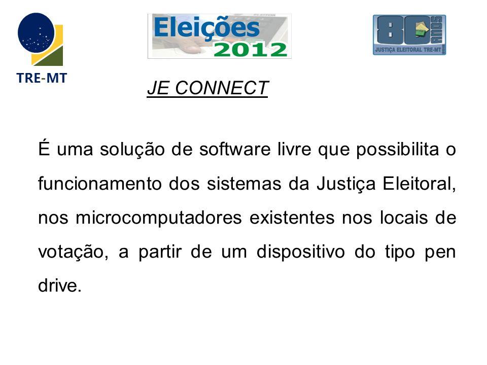 É uma solução de software livre que possibilita o funcionamento dos sistemas da Justiça Eleitoral, nos microcomputadores existentes nos locais de vota