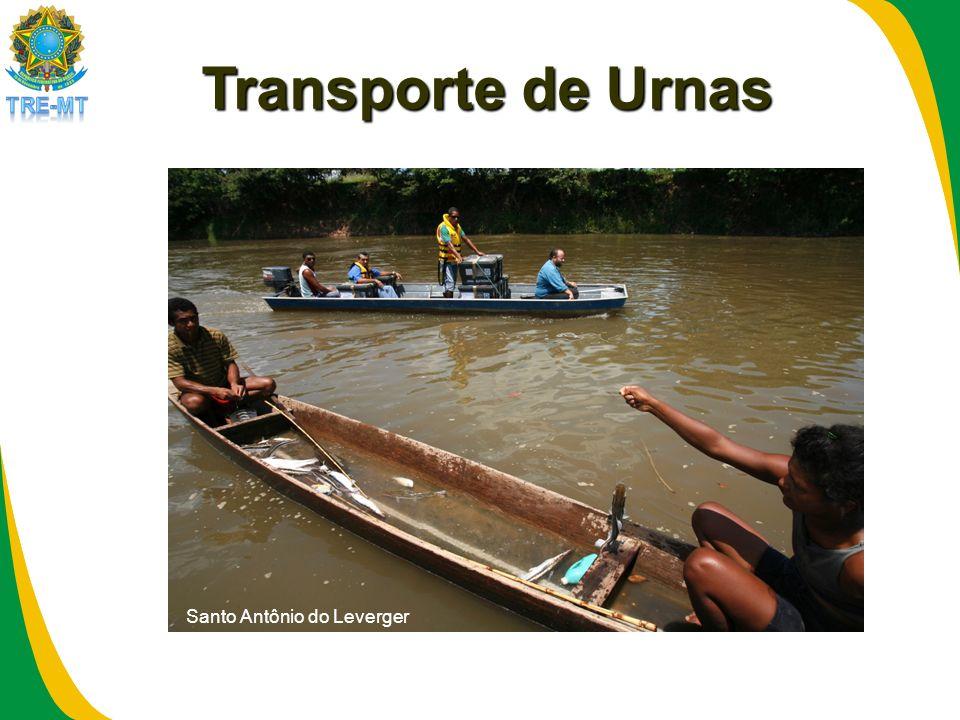 Transporte de Urnas Santo Antônio do Leverger