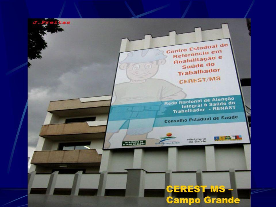 CEREST MS – Campo Grande