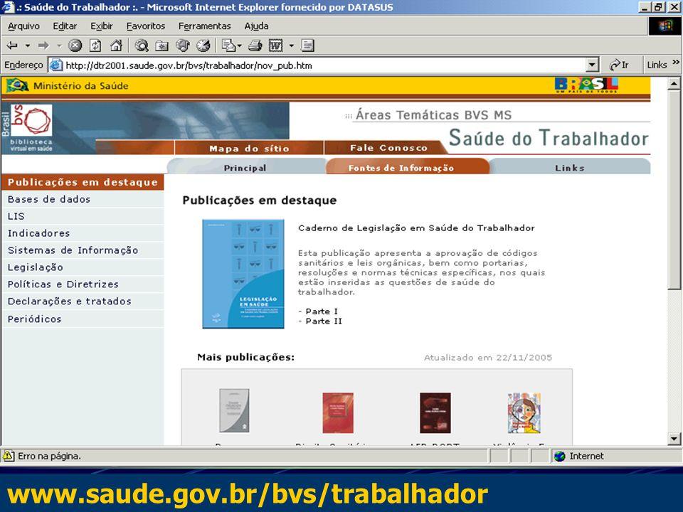 www.saude.gov.br/bvs/trabalhador
