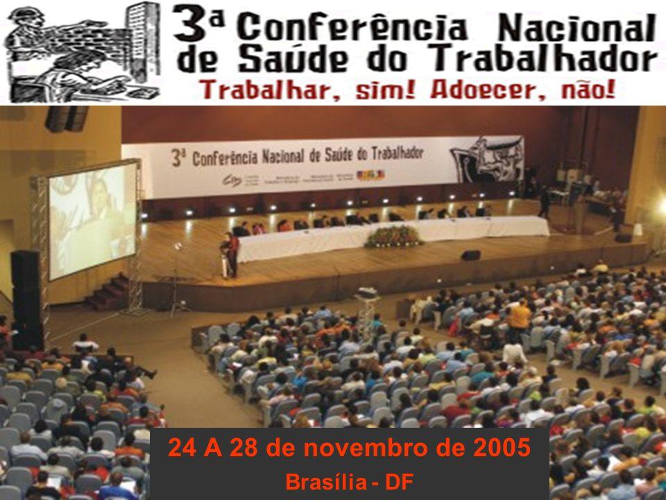 24 A 28 de novembro de 2005 Brasília - DF