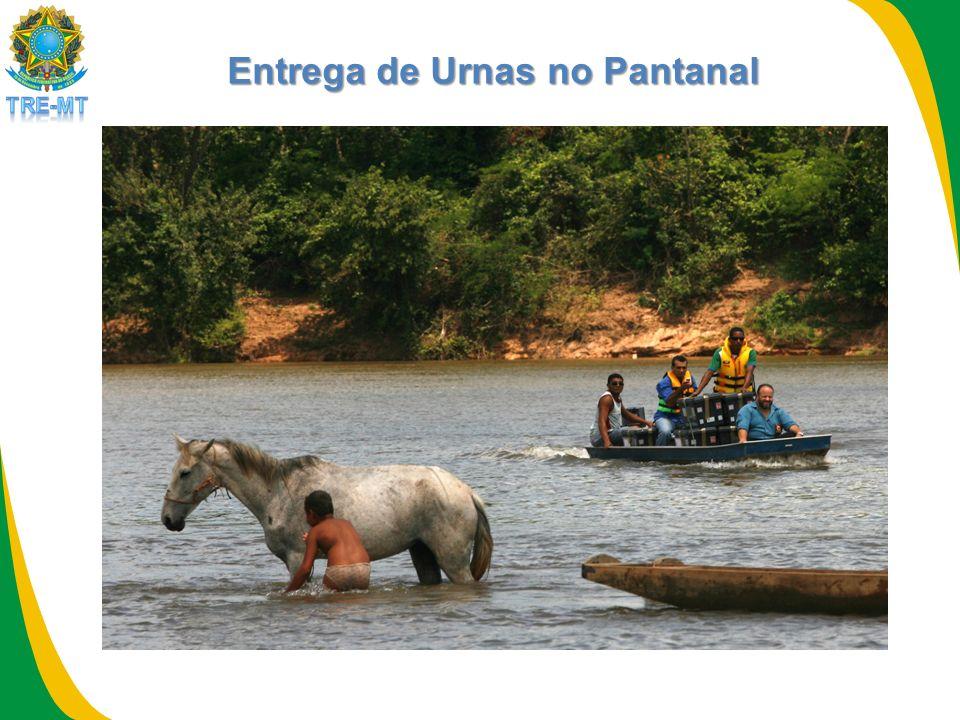 Entrega de Urnas no Pantanal
