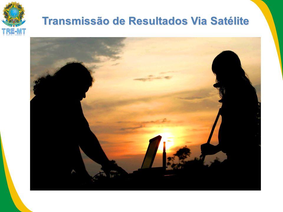 Transmissão de Resultados Via Satélite