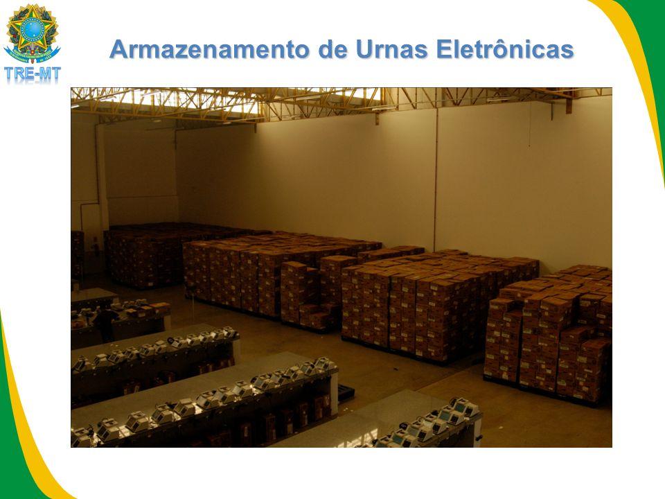 Armazenamento de Urnas Eletrônicas