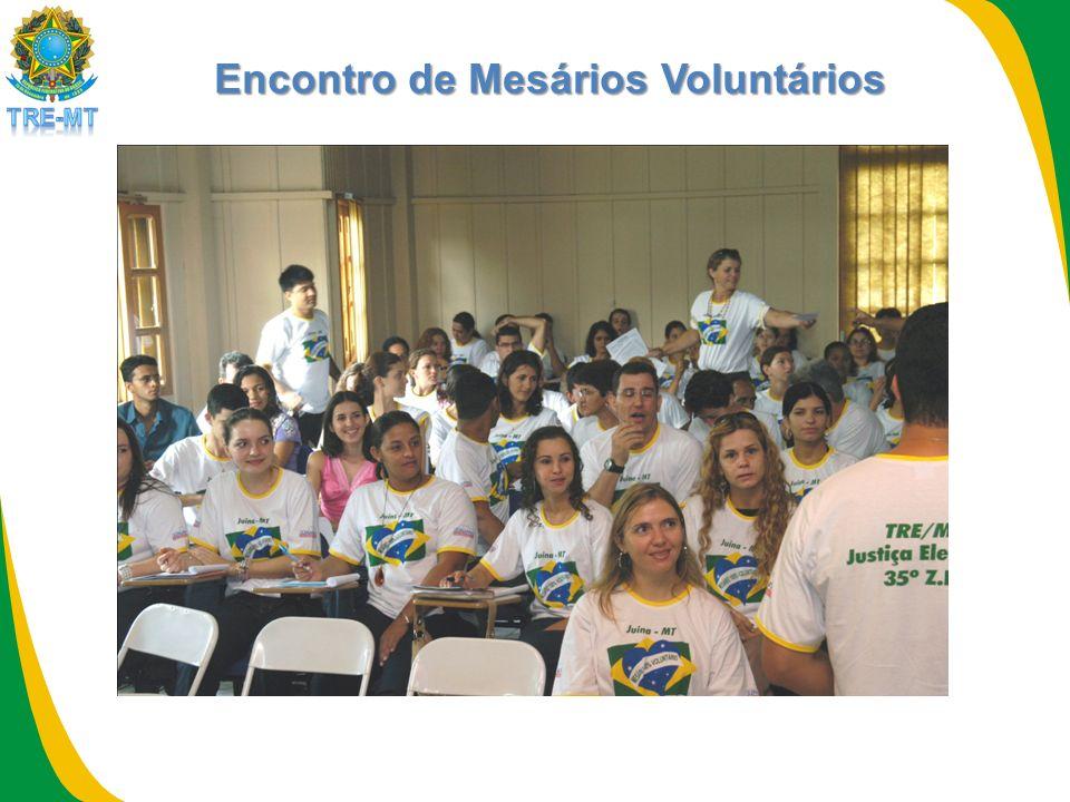 Encontro de Mesários Voluntários