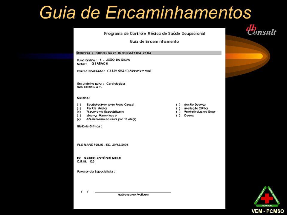 Guia de Encaminhamentos VEM - PCMSO